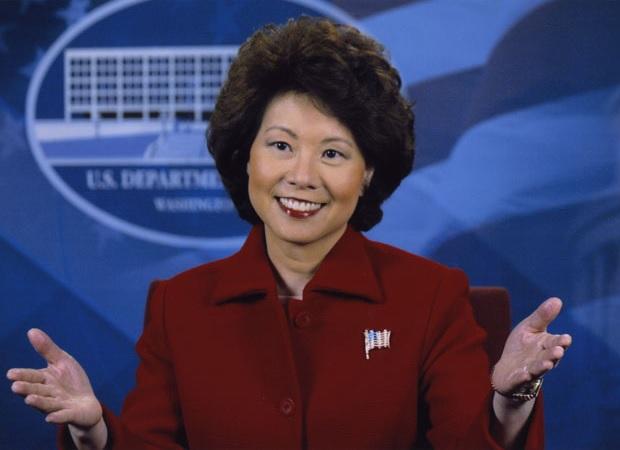 Chairman Chao for Transportation Secretary?   Say it ain't so....