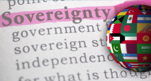 The Process:  Transferring Sovereignty to International Bodies
