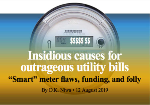 Insidious Causes for Outrageous Utility Bills