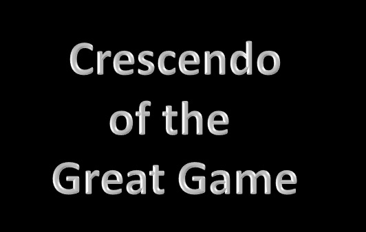 Crescendo of the Great Game