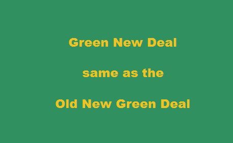 Rio 1992:  Launch of the New Green Deal