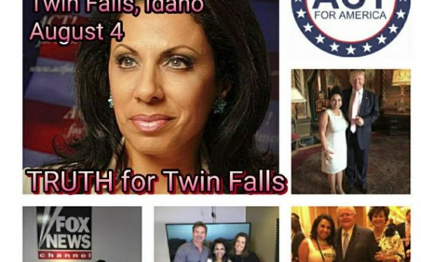 Brigitte Gabriel Coming to Idaho